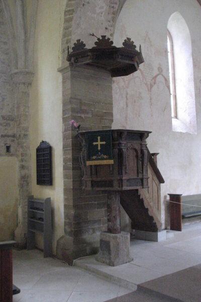 Muhu Katariina kiriku kantsel