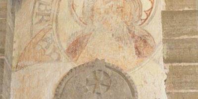 Muhu Katariina kirik, fragment