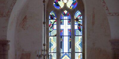Muhu kiriku aken foto Illimar Toomet