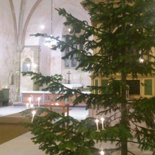 Muhu Katariina kirik, jõuluaeg