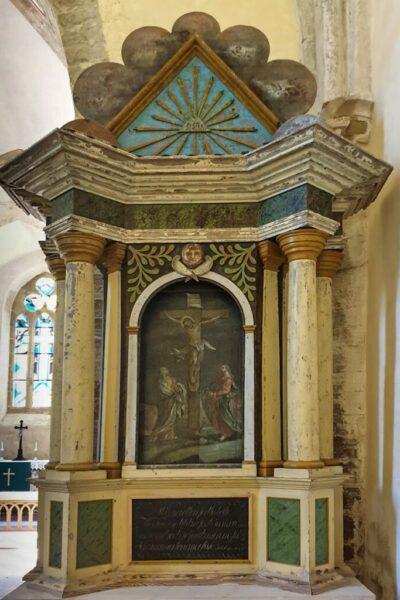 Muhu Katariina kiriku altari sein